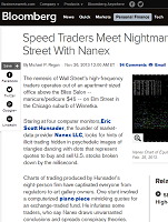 Speed Traders Meet Nightmare on Elm Street With Nanex